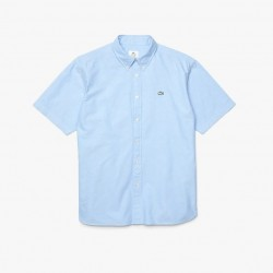 Camisa Lacoste LIVE relaxed fit blue