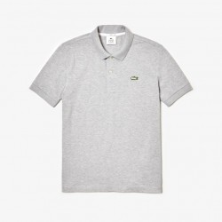 Polo Lacoste LIVE slim fit gris vigoré