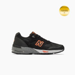 New Balance 991 Made in UK black neon