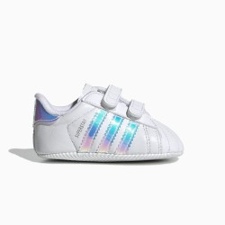 ADIDAS SUPERSTAR CRIB WHITE/SILVER BD8000