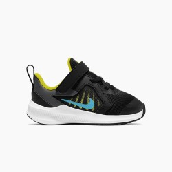 NIKE DOWNSIFTER 10 BLACK FLUOR CJ2068-009