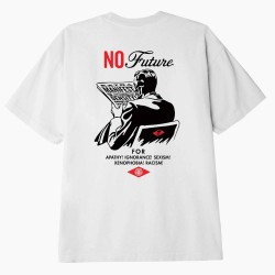 CAMISETA OBEY NO FUTURE FOR BEIGE