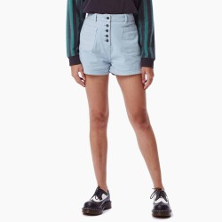 TEXTIL MUJER OBEY SHORT RIVIERA FADED BLUE SS21