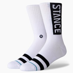 CALCETINES STANCE BASIC WHITE