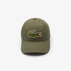 COMPLEMENTOS HOMBRE GORRA LACOSTE OLIVE SS21