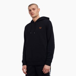 TEXTIL HOMBRE FRED PERRY HOODIE BLACK FW21