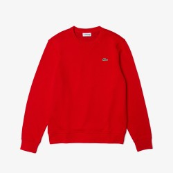 TEXTIL HOMBRE LACOSTE CREW BASIC RED FW21