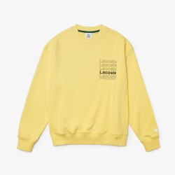 TEXTIL HOMBRE SUDADERA LACOSTE YELLOW FW21